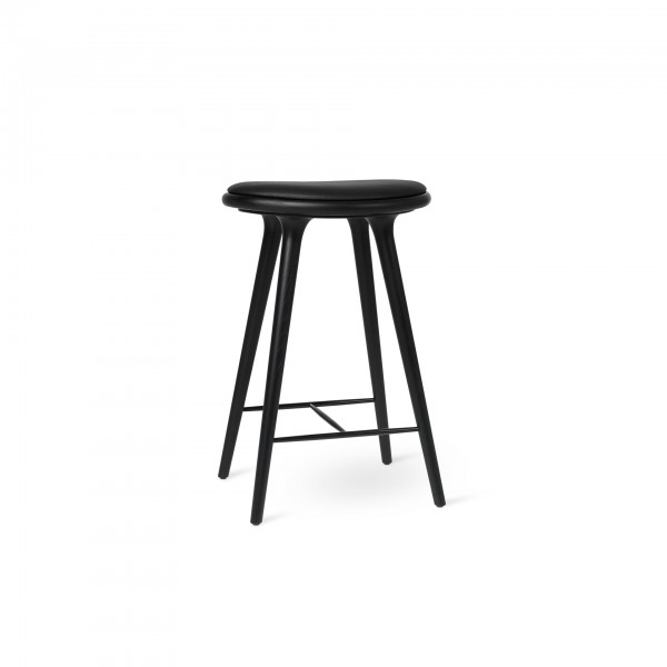High Stool black stained oak - Image 1