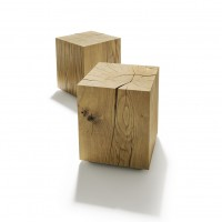 Natural wood block