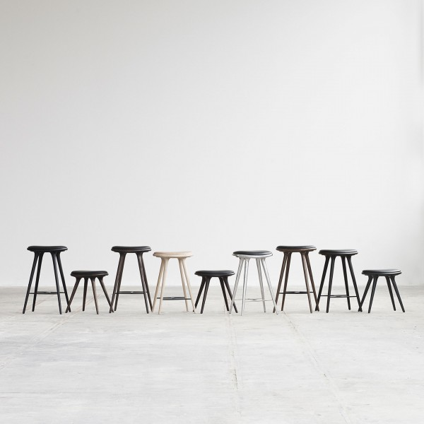 Low Stool Sirka grey oak - Image 1