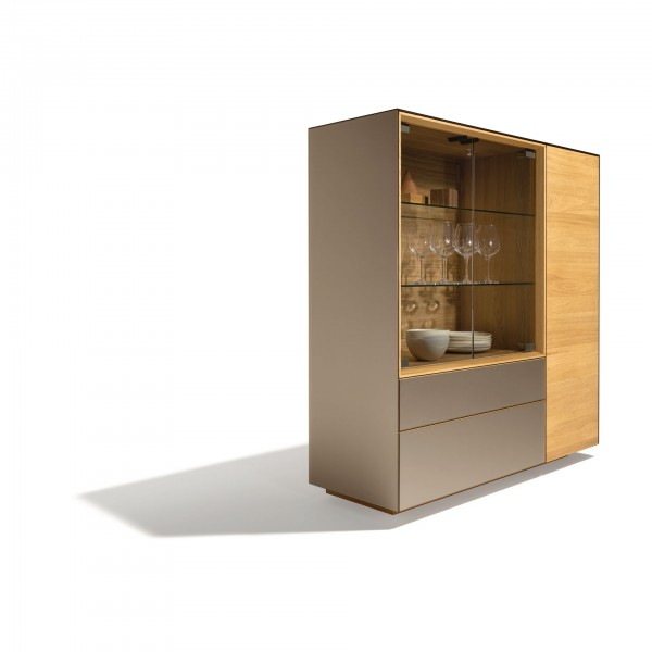 Cubus Pure Highboard Storage Cabinet - Image 3