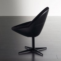 Jo swivel base armchair