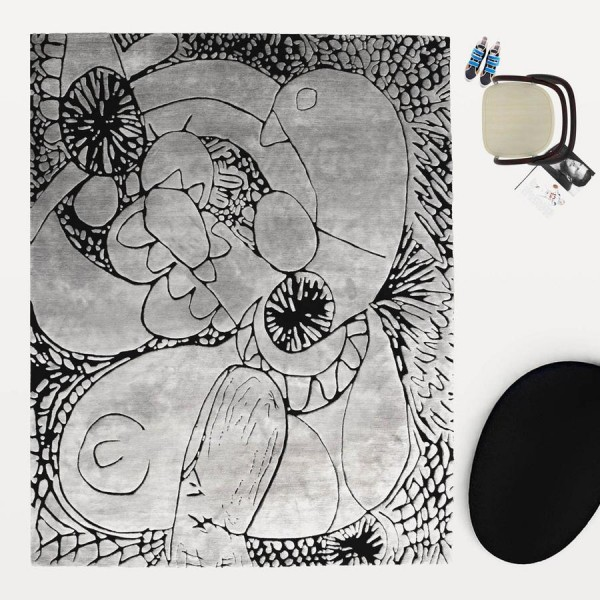 Automatic Drawing, 2014 rug - Image 1