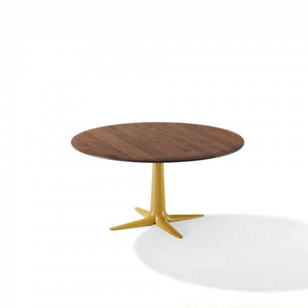 Lauro 1530 Wood Table - Lifestyle