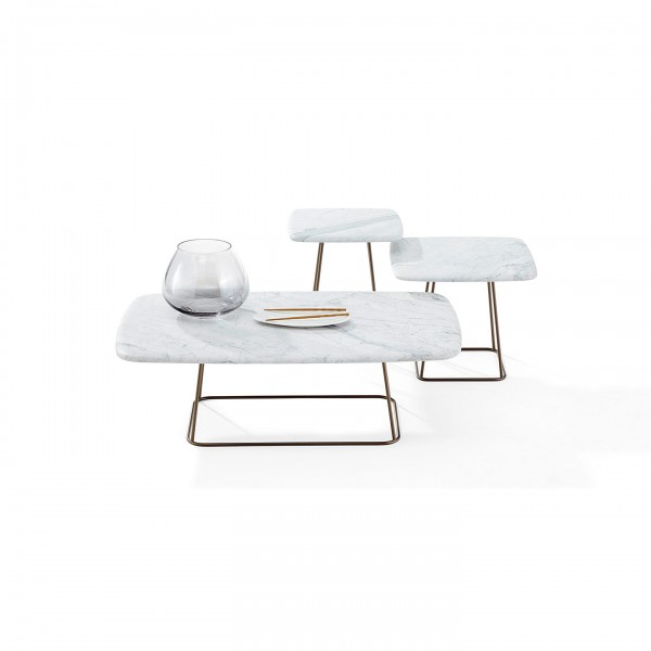 Manolo 1370 coffee table and side tables - Lifestyle