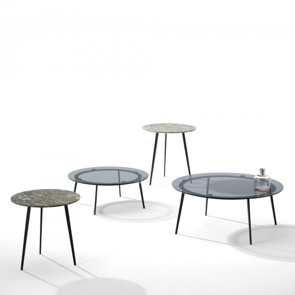 Tosca 1380 coffee and side tables  - Lifestyle