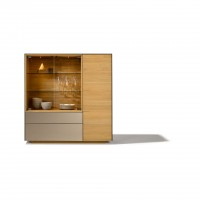 Cubus Pure Highboard Storage Cabinet