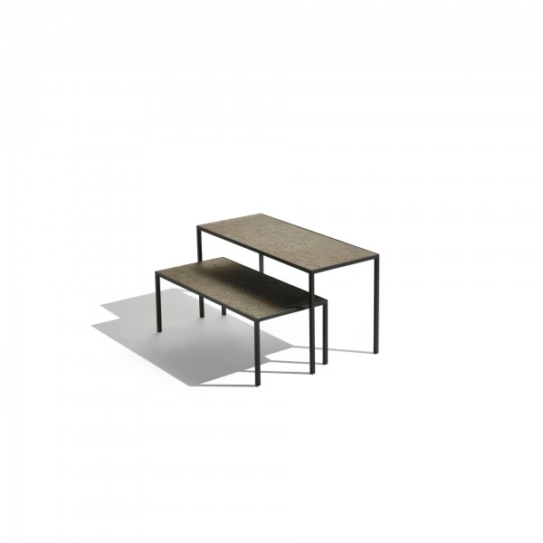 Harry glass coffee and side tables - Image 3