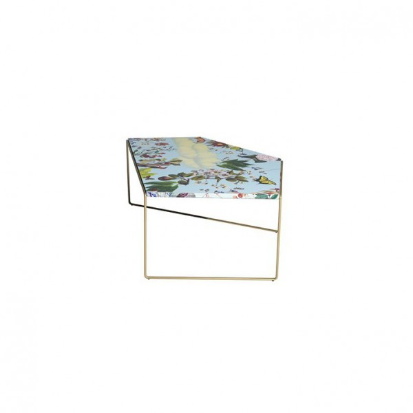 Zagazig flower pattern coffee table - Lifestyle