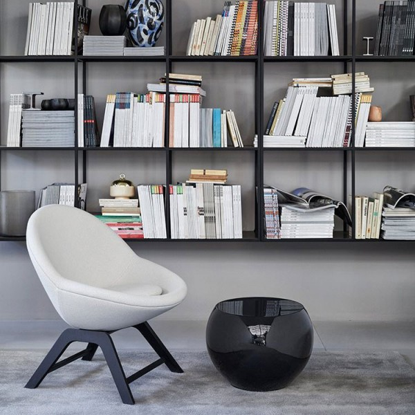 Jo fixed base armchair - Lifestyle