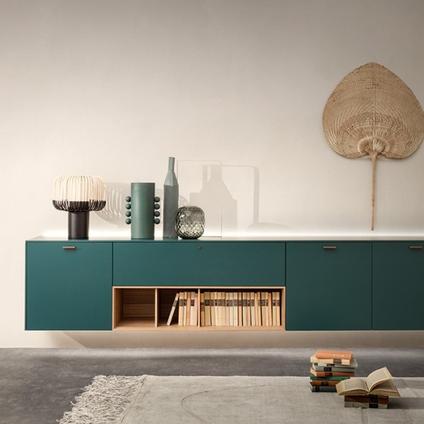 LT 40 System - wall hung sideboards - Lifestyle