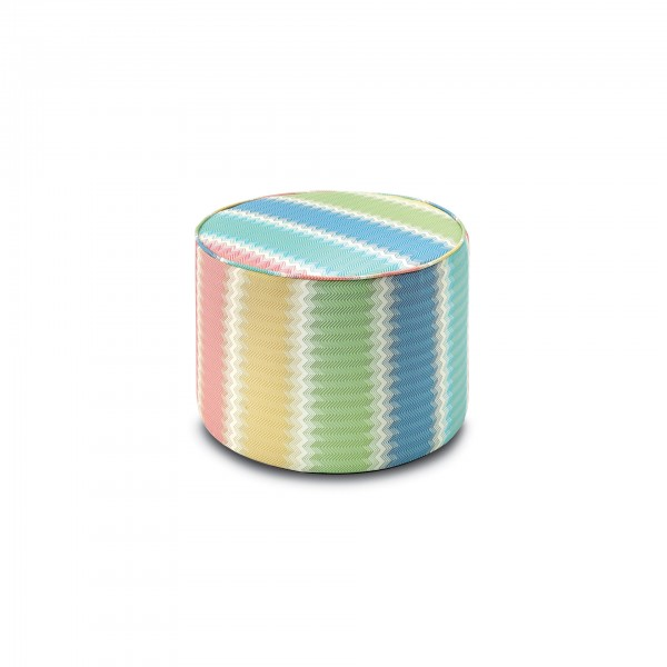 Westminister Cylindrical Pouf - Lifestyle