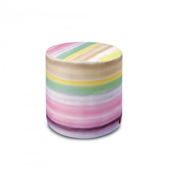 Whitby Cylindrical Pouf - Lifestyle