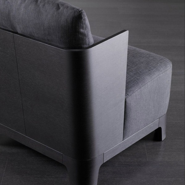 Keeton wood armchair - Lifestyle