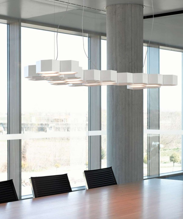 Honeycomb suspension lamp - Image 2