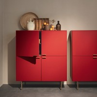 LT 40 sideboards with metal base