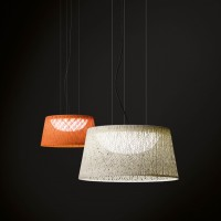 Wind outdoor suspension lamp