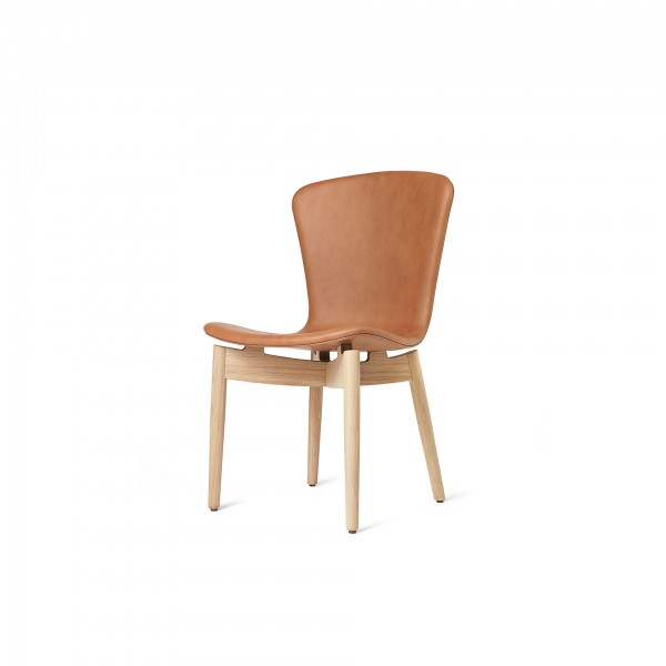 Shell Dining Chair Ultra Brandy - Lifestyle