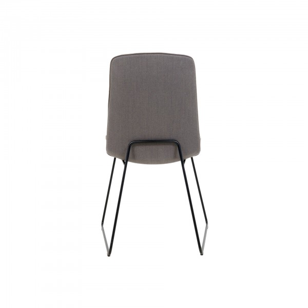 Lhasa chair with wire skid frame - Image 2