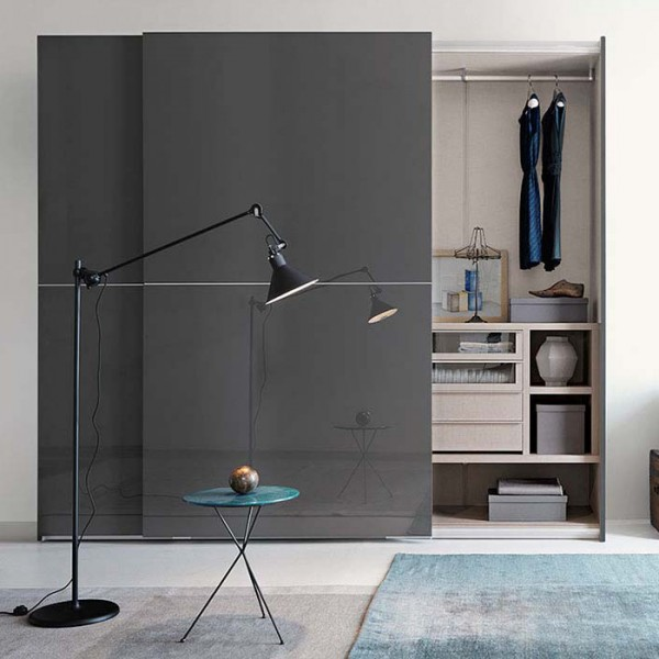 Piana sliding wardrobe - Lifestyle