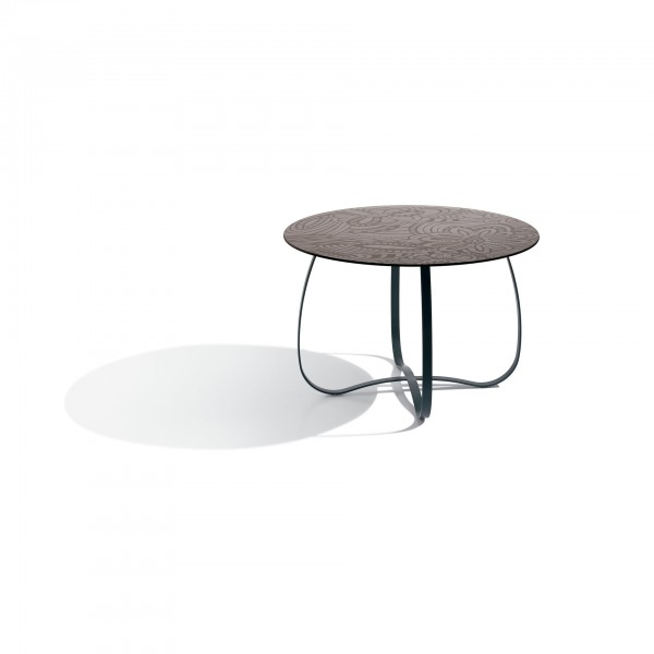 Holly glass side and coffee table - Lifestyle