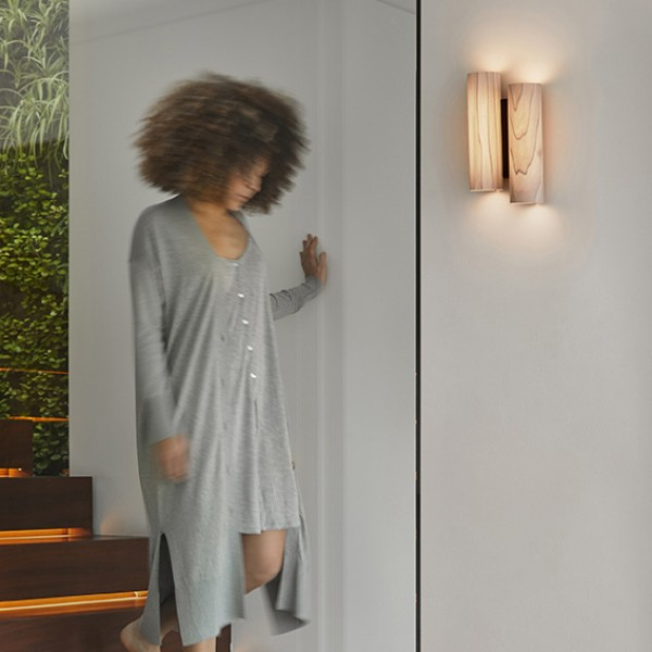 Black Note Duplet wall sconce - Image 3
