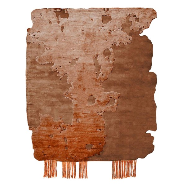 Nobu Burnt Orange, 2013 Rug - Lifestyle