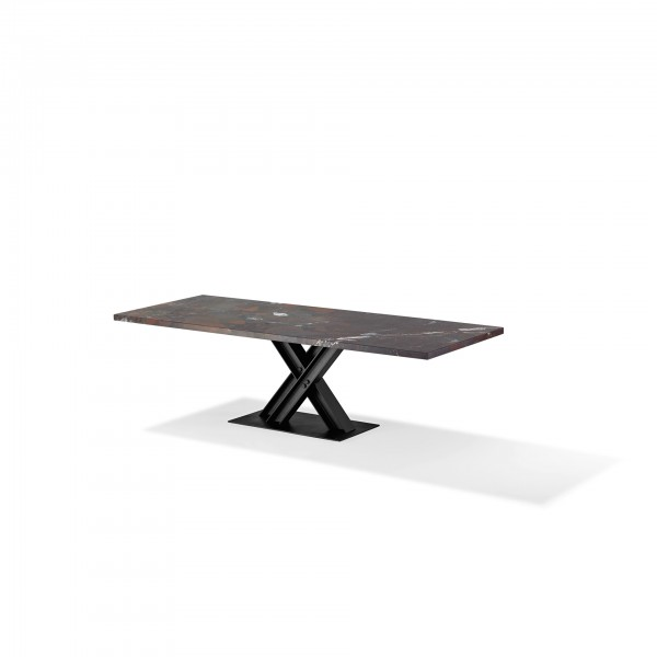 Victor 1470 Stone Top Table - Lifestyle