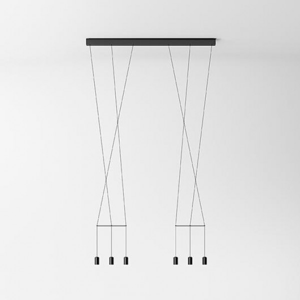 Wireflow Lineal suspension lamp - Image 3