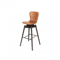 Shell Bar Stool Ultra Brandy