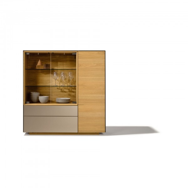 Cubus Pure Highboard Storage Cabinet - Image 1