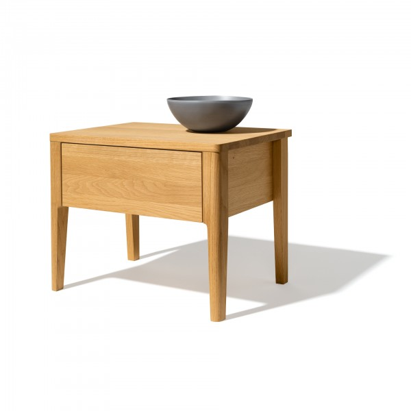 Mylon night stand, 1 drawer - Image 1