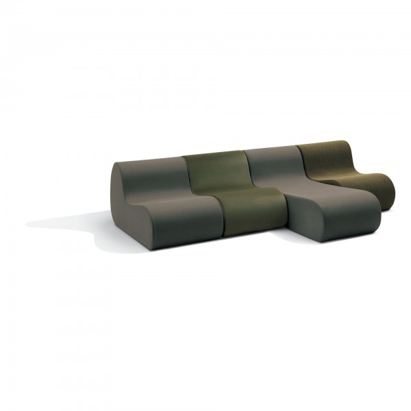 Virgola modular seating collection - Lifestyle
