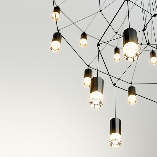 Wireflow suspension lamp - Lifestyle