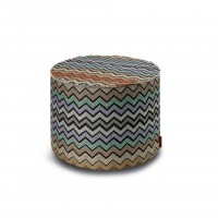 Westmeath Cylindrical Pouf