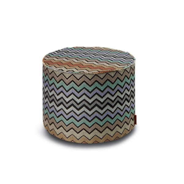 Westmeath Cylindrical Pouf - Lifestyle