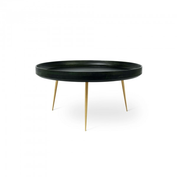 Bowl coffee table Nori Green XL - Lifestyle