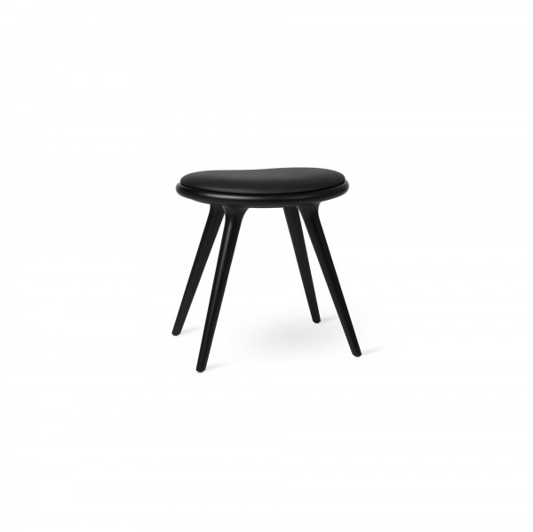 Low Stool Black stained beech - Lifestyle