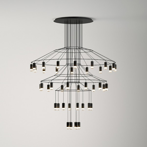 Wireflow suspension lamp - Image 1