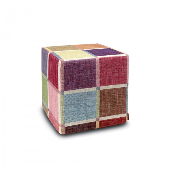 Winchester Pouf Cube - Lifestyle