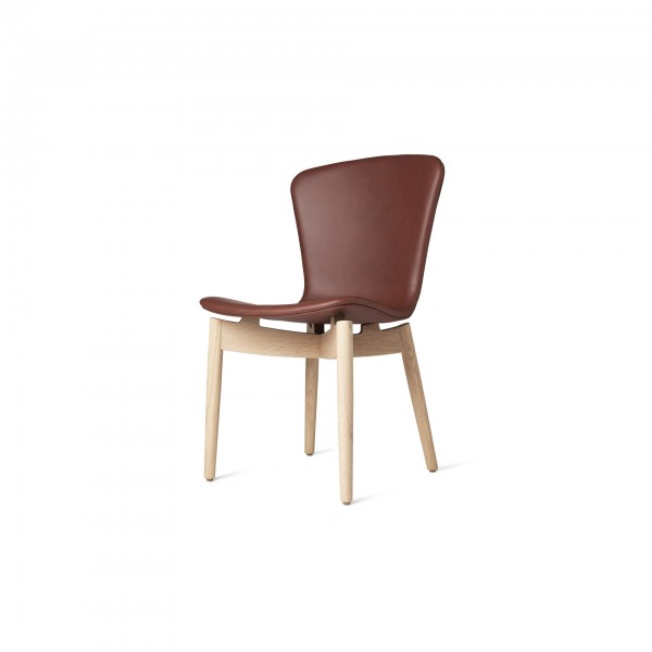 Shell Dining Chair Ultra Cognac - Lifestyle