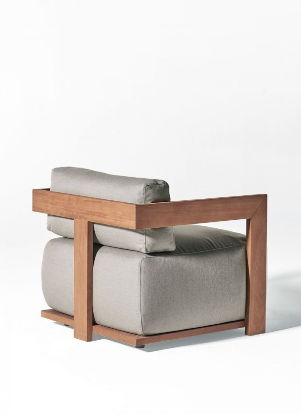 Claud Open Air armchair - Image 1