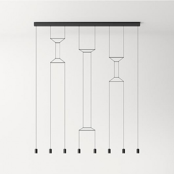 Wireflow Lineal suspension lamp - Image 4
