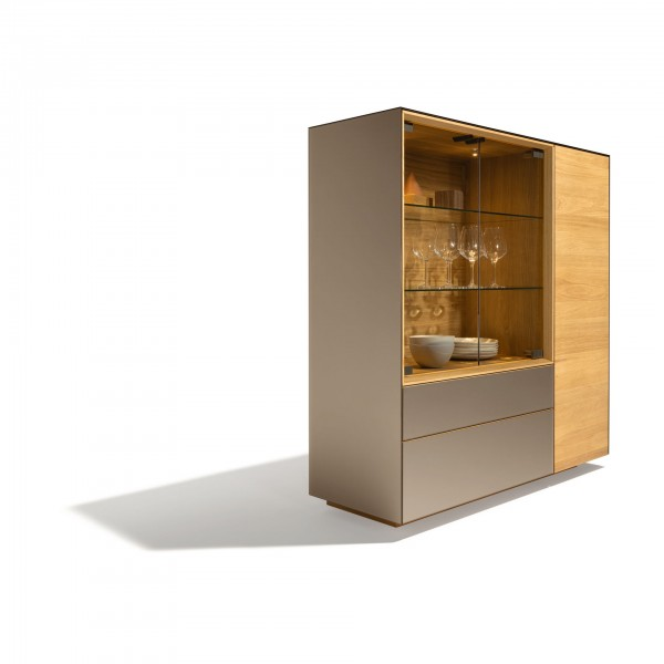Cubus Pure Highboard Storage Cabinet - Image 2