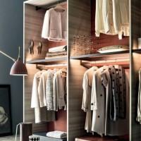 Open walk in closet