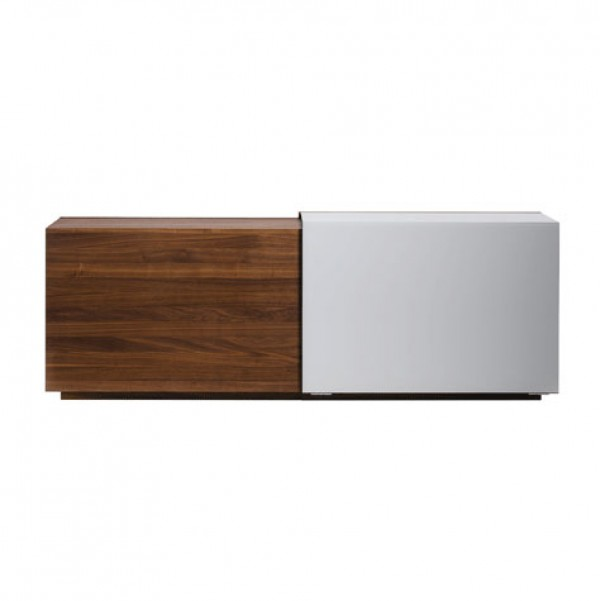 Cubus In Motion sideboard with angled sliding door - Image 1
