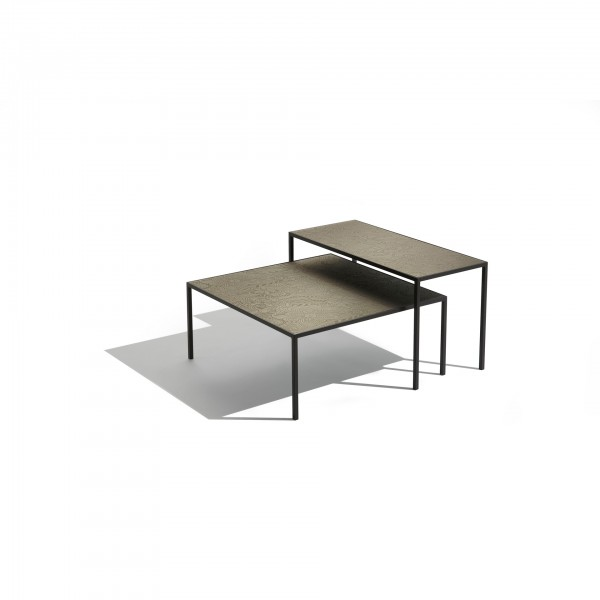 Harry glass coffee and side tables - Image 1