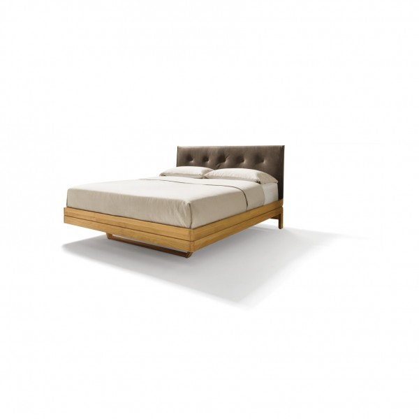 Float bed - upholstered headboard - Image 1