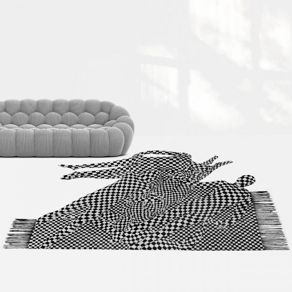 Black and White People Pattern, 2017 - Image 1